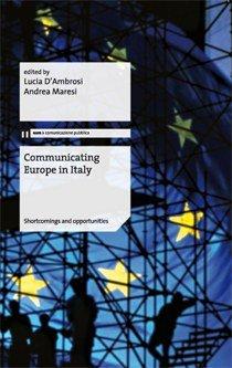 Communicating Europe in Italy, opera collettiva, eum